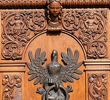Polish eagle, door knocker. by FER737NG