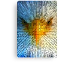 ANGRY EAGLE Canvas Print