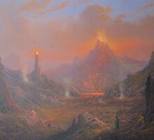 Mordor.Land Of Shadow by Joe Gilronan