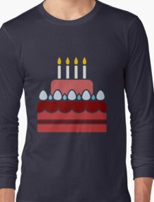 Birthday Cake Long Sleeve T-Shirt