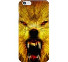 ANGRY WOLF iPhone Case/Skin