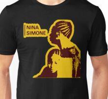 Nina Simone Yellow Unisex T-Shirt
