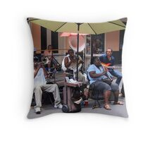New Orleans Jazz Musicians Throw Pillow