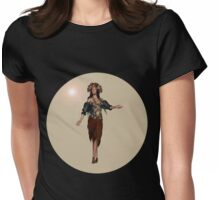 Autumn Girl Womens Fitted T-Shirt