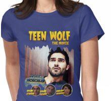 Teen Wolf Old Comic [Derek] Womens Fitted T-Shirt