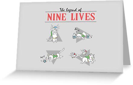 Legend of Nine Lives by thehookshot