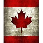 【800+ views】Canadian Flag iPhone Case by Shaojie Wang
