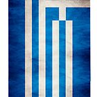 Greek Banner iPhone Case by Shaojie Wang