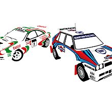 Sega Rally Tribute - Lancia vs Toyota by RacingColour