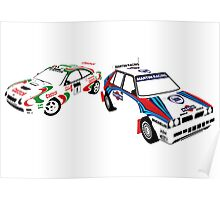 Sega Rally Tribute - Lancia vs Toyota Poster
