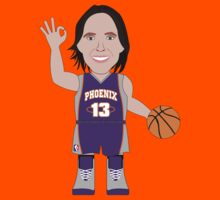 NBAToon of Steve Nash, player of Phoenix Suns by D4RK0