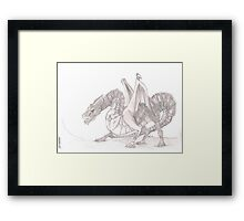 Blood Dragon Framed Print