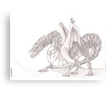 Blood Dragon Canvas Print
