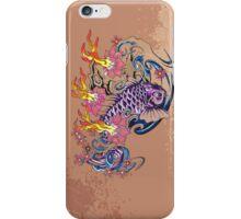 Purple koi simplicity  iPhone Case/Skin