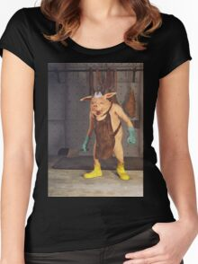The Butcher Women's Fitted Scoop T-Shirt