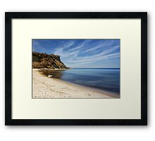 german coast Framed Print