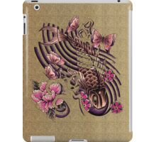Tattoo styled koi fish art iPad Case/Skin