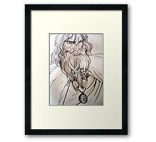Journey Man Framed Print