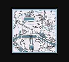 Map of Paris - Champs Elysees T-Shirt