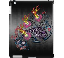 Koi with fire iPad Case/Skin