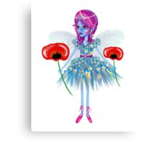 Enigmatic Flower Fairy Art by LeahG Canvas Print