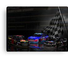 Racing in Heaven Canvas Print