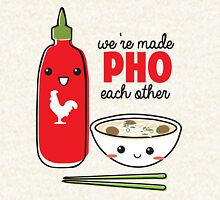 We're Made PHO Each Other Hoodie