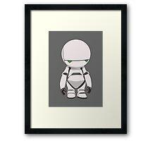 Marvin the Paranoid Framed Print