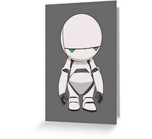 Marvin the Paranoid Greeting Card