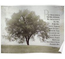 For the tornado victims in Oklahoma-Psalm 58:1 Poster