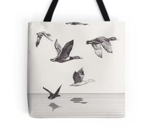 The Ducks in Winter Tote Bag