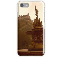 Edinburgh Castle & Fountain iPhone Case/Skin