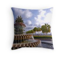 Charleston Landmark Throw Pillow