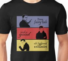 Villains of SuperWhoLock Unisex T-Shirt