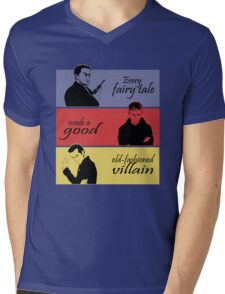 Villains of SuperWhoLock Mens V-Neck T-Shirt