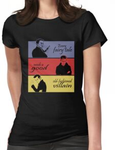 Villains of SuperWhoLock Womens Fitted T-Shirt