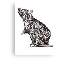 Mechanical Rat Canvas Print