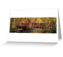 Bridge On Big Chico Creek Greeting Card