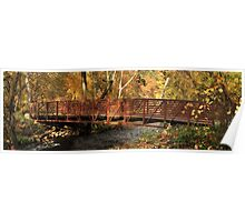 Bridge On Big Chico Creek Poster