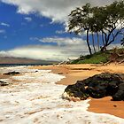 Keawakapu Beach - Mokapu Beach by James Eddy