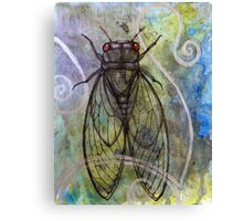 Red-Eyed Cicada Canvas Print