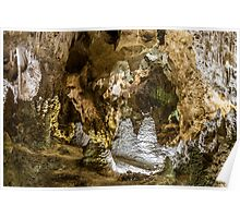 Inside the Boneyard - Carlsbad Caverns Poster