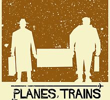 Planes Trains and Automobiles Poster by MarkWelser