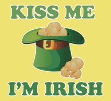 Kiss Me Im Irish Hat St Patricks Day Kids Clothes