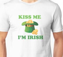 Kiss Me Im Irish Hat St Patricks Day Unisex T-Shirt