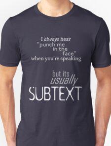 Punch Me Unisex T-Shirt