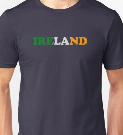 Ireland Flag St Patricks Day Unisex T-Shirt