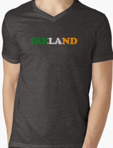 Ireland Flag St Patricks Day Mens V-Neck T-Shirt