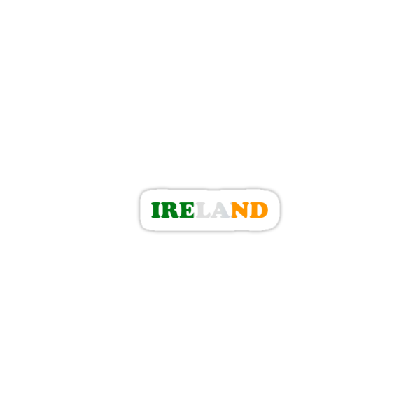Ireland Flag St Patricks Day by CarbonClothing