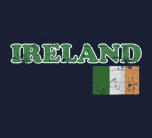Ireland Vintage Flag St Patricks Day Kids Clothes